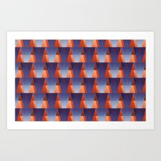 GadgetMatch pattern Art Print