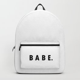 BABE. Backpack