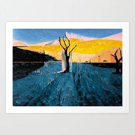 Deserts/ Art Print