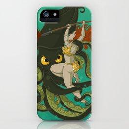 girl vs. nature iPhone Case