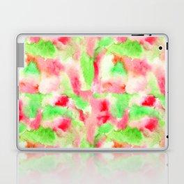 Watercolors in summer's watermelon colors Laptop & iPad Skin