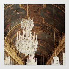 The Wonder Of Versailles Canvas Print