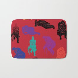 Figures Bath Mat