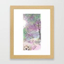 Snow Dog (for Philippa) Framed Art Print