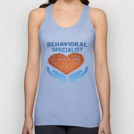 Behavioral Specialist Unisex Tank Top