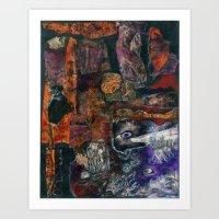 Seen and Unseen Art Print