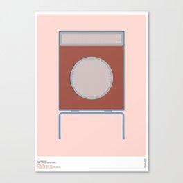 Braun L2 Speaker - Dieter Rams Canvas Print