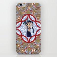 tribal dancer iPhone Skin