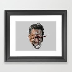 From my heart i wish you melt Framed Art Print