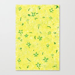 Spring Flowers Before April Showers Canvas Print
