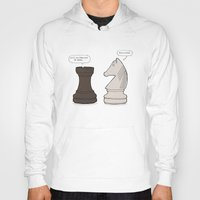 chess Hoodies featuring Chess by rich_hood