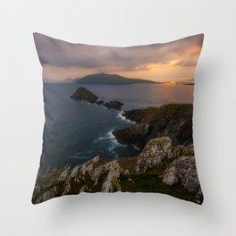 Slea Head, Co.Kerry - Ireand Print (RR 244) Throw Pillow
