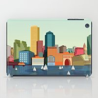 boston iPad Cases featuring Boston  by Felita Go