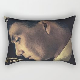 Peaky Blinders, Cillian Murphy, Thomas Shelby, BBC Tv series, gangster family Rectangular Pillow
