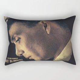 Peaky Blinders, Cillian Murphy, Thomas Shelby, BBC Tv series, gangster family Rectangular Pillow