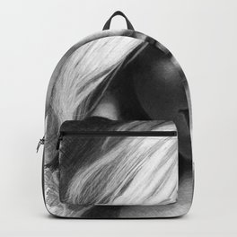 Margot Robbie Pencil Sketch Backpack