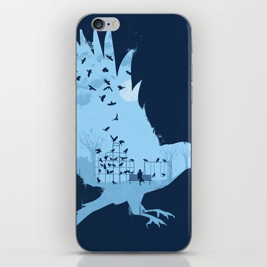 Crows on the Playground iPhone & iPod Skin