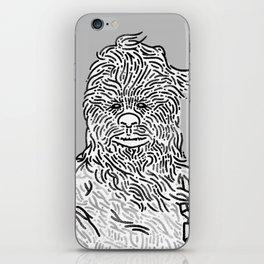 Snow Wookie iPhone Skin