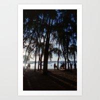 Last Ray of Sun Art Print