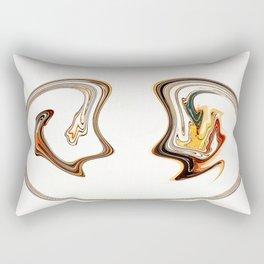 Serious Talk Rectangular Pillow