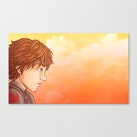 hiccup Canvas Prints featuring Hiccup by MaliceZ