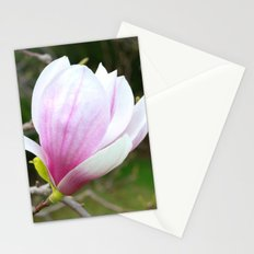 Sweet Magnolia In Springtime Stationery Cards
