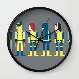 X-Men 8-Bit Wall Clock