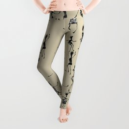 Stick Figures Leggings