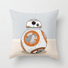 Cute Droid  Throw Pillow