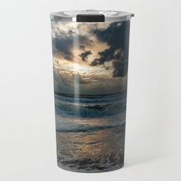 North Sea Beach Travel Mug
