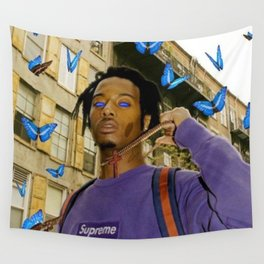 Playboi Carti Supreme Wall Tapestry