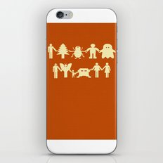Let's Get Along iPhone & iPod Skin