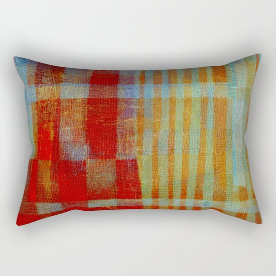 """""""Passions"""" Inspired by the Maria Bethânia music. Rectangular Pillow"""