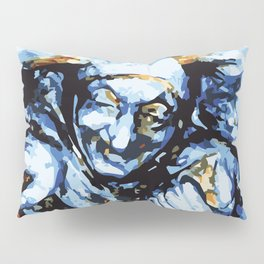 Court Jester in Colour Pillow Sham