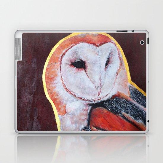 Barn Owl 2 Laptop & iPad Skin