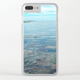 Looking Out to See The Sea Clear iPhone Case