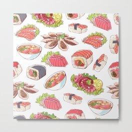 Asian food Metal Print