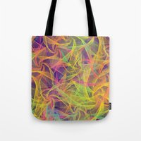 holographic Tote Bags featuring Blend Everywhere by Danny Ivan