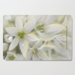 The Magic of Flowers Cutting Board
