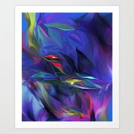 Abstract 032712A Art Print