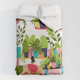Love Plants Duvet Cover