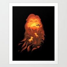 The Lion King - Into The Wild Art Print