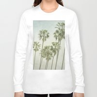 palm trees Long Sleeve T-shirts featuring Palm Trees by Pure Nature Photos