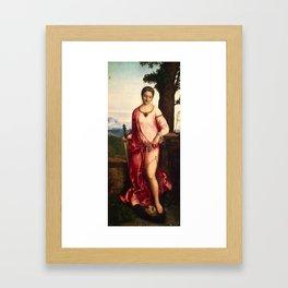 """Giorgione (Giorgio Barbarelli da Castelfranco) """"Judith"""" Framed Art Print"""