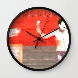 SquaRed: Changeover Wall Clock