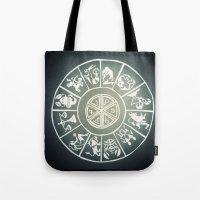 "zodiac Tote Bags featuring ""Zodiac"" by DiegoC"