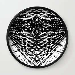 Starship Palm Wall Clock