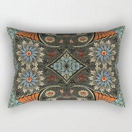 Oriental fish painting Rectangular Pillow