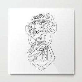 One whole line Metal Print