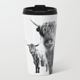 HIGHLAND COW - LULU & SARA Travel Mug